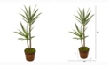 Nearly Natural 4ft. Double Yucca Artificial Plant in Planter