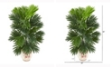 Nearly Natural 25in. Areca Palm Artificial Plant in Floral Planter