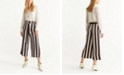 MANGO Striped Culottes
