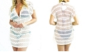 JORDAN TAYLOR BEACHWEAR V-Neck Tunic Dress