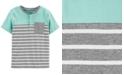 Carter's Little & Big Boys Cotton Striped Pocket Henley Shirt