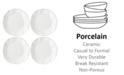 Lenox Blue Bay Dinner Plate  Set/4 White