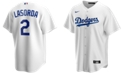 Nike Men's Tommy Lasorda Los Angeles Dodgers Coop Player Replica Jersey