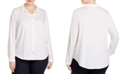 Eileen Fisher Plus Size Organic Cotton Classic Shirt