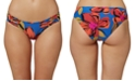 O'Neill Juniors' Gala Printed Strappy Hipster Bikini Bottoms