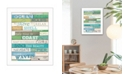 Trendy Decor 4U Trendy Decor 4U Ocean Rules By Marla Rae, Printed Wall Art, Ready to hang Collection