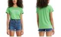 Levi's Women's Perfect Box-Logo Cotton T-Shirt