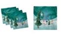 "Ambesonne Elf Set of 4 Napkins, 12"" x 12"""