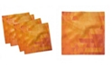 """Ambesonne Abstract Triangle Set of 4 Napkins, 12"""" x 12"""""""