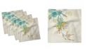 "Ambesonne Hummingbird Set of 4 Napkins, 12"" x 12"""