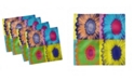 "Ambesonne Modern Art Set of 4 Napkins, 12"" x 12"""