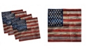 """Ambesonne 4th of July Set of 4 Napkins, 12"""" x 12"""""""