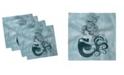 """Ambesonne Mermaid Set of 4 Napkins, 12"""" x 12"""""""