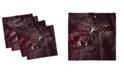 "Ambesonne Romantic Set of 4 Napkins, 18"" x 18"""