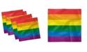 "Ambesonne Pride Set of 4 Napkins, 18"" x 18"""