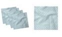 "Ambesonne Mittens Set of 4 Napkins, 18"" x 18"""