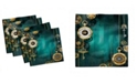 """Ambesonne Industrial Set of 4 Napkins, 18"""" x 18"""""""
