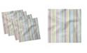 "Ambesonne Soft Lines Set of 4 Napkins, 18"" x 18"""