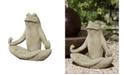 Campania International Totally Zen Frog Garden Statue