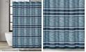 "London Fog Mitchell Stripe Shower Curtain, 72"" x 72"""