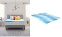 "Comfort Revolution 1.5"" Gel-Infused Memory Foam Mattress Topper, Full"