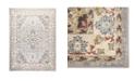 "Global Rug Designs Barnes Bar03 Gray and Ivory 7'10"" x 10'2"" Area Rug"