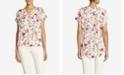 Jones New York Women's Easy Floral Top