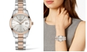 Longines Women's Swiss Conquest Classic Two-Tone PVD Stainless Steel Bracelet Watch 34mm