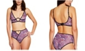 Hauty Printed Mesh High Waist Underwear, Online Only