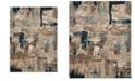 "Karastan Elements Envision Aquamarine 5'3"" x 7'10"" Area Rug"