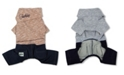 Touchdog Vogue Neck-Wrap Sweater and Denim Pant Outfit X-large