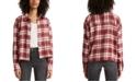 Levi's Maple Cotton Plaid Utility Shirt