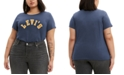 Levi's Trendy Plus Size Cotton Perfect Logo T-Shirt