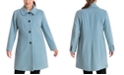 Anne Klein Plus Size Single-Breasted Club-Collar Coat, Created for Macy's