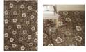 """Martha Stewart Collection Garland MSR3267C Mocha 5'6"""" x 8'6"""" Area Rug"""