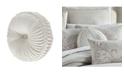 """J Queen New York Angeline Round Decorative Pillow, 15"""" x 15"""""""