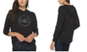 Michael Kors Drop-Shoulder Logo Hoodie, Regular & Petite Sizes