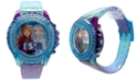 Accutime Kid's Frozen 2 Digital Glitter Silicone Strap Watch 34mm