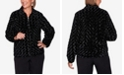 Alfred Dunner Women's Plus Size Classics Faux Fur Jacket