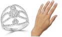 EFFY Collection EFFY® Diamond Openwork Statement Ring (7/8 ct. t.w.) in 14k White Gold