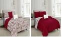 Olivia Gray Fatima Reversible King Comforter Set, Piece