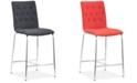 Zuo Uppsala Counter Chair, Set of 2