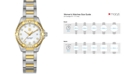 TAG Heuer Women's Swiss Aquaracer Diamond (9/20 ct. t.w.) 18k Gold-Capped Stainless Steel Bracelet Watch 27mm WAY1453.BD0922