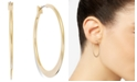 Charter Club Medium Wedge Hoop Earrings