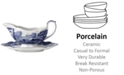"""Spode """"Blue Italian"""" Gravy Boat with Stand"""
