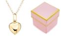 Macy's Children's 14k Gold Heart Necklace