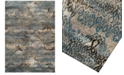 Dalyn CLOSEOUT!  Modern Abstracts Salon Teal Area Rugs