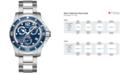 Longines Men's Swiss Chronograph HydroConquest Stainless Steel Bracelet Watch 41mm L37434966