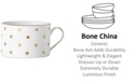 kate spade new york Larabee Road Gold  Bone China Cup