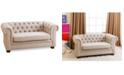 Abbyson Living  Landin Kids Mini Sofa, Quick Ship